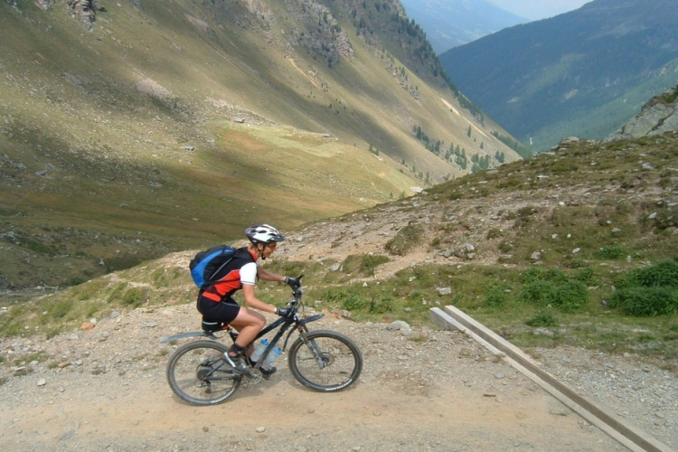 Mountainbiking Transalp
