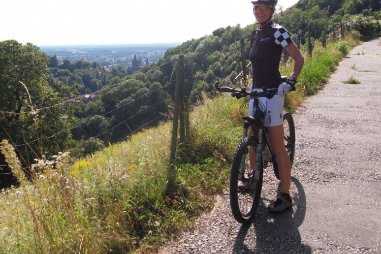 Mountainbiking Heppenheim